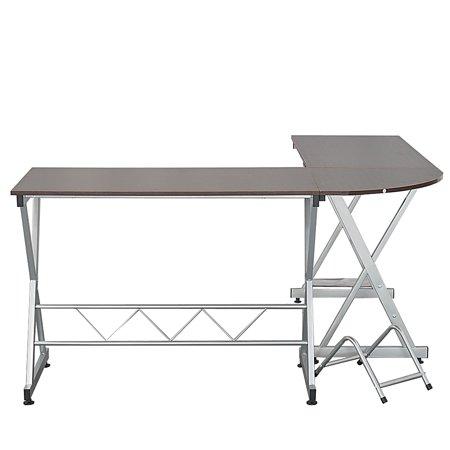 L-shaped Wood Desk (L-Shaped Wood Computer Desk)