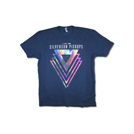 Silversun Pickups Night Light Tour 2017 Navy Blue T Shirt](Costumes Halloween 2017)