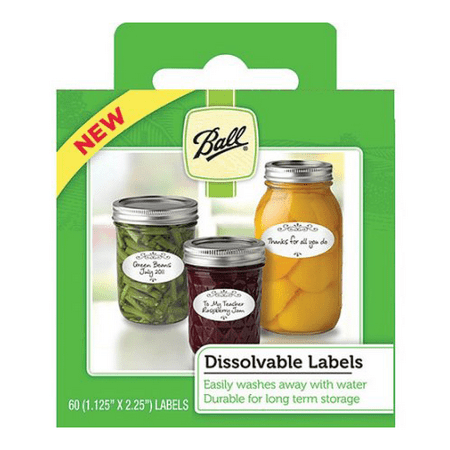 JARDEN HOME BRANDS 1440010734 60Pack Dissolvable Jar Label
