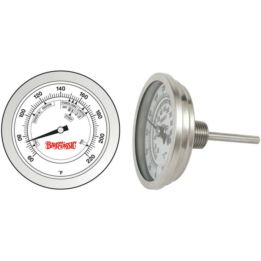Bayou Classic Stainless Steel Brew Thermometer