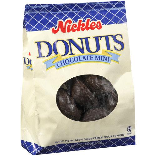 Nickles Chocolate Mini Donuts, 11.5 oz