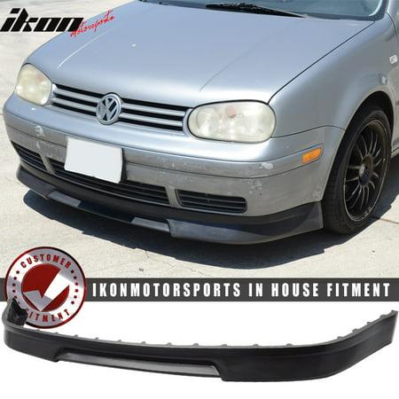 Front Spoiler Volkswagen Golf (Fits 99-04 Volkswagen VW Golf MK4 Mkiv P3 Front Bumper Lip Spoiler - Urethane PU )