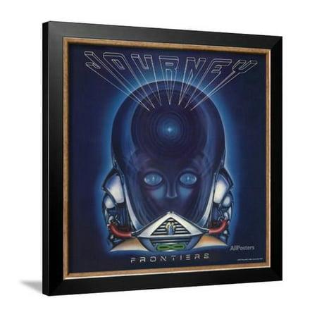 Journey Framed - Journey - Frontiers, 1983 Framed Poster Wall Art