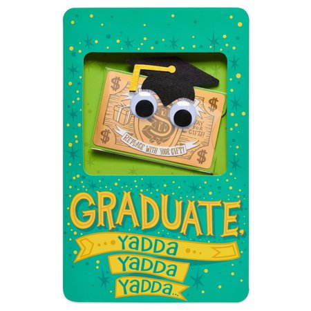 American Greetings Graduation Yadda Gift Card Holder with Music (Graduation Music)