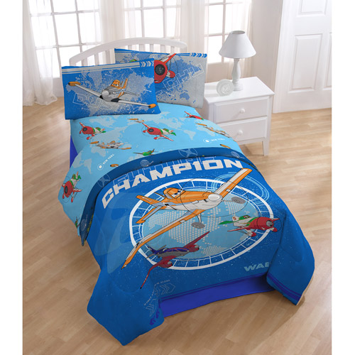 Disney Planes Racing Polyester Bedding Sheet Set