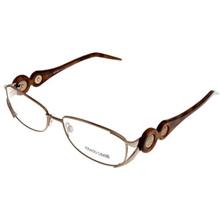 f9d79216979 Roberto Cavalli Prescription Eyeglasses Frame Women R549 034 Light Bronze  Rectangle - Walmart.com