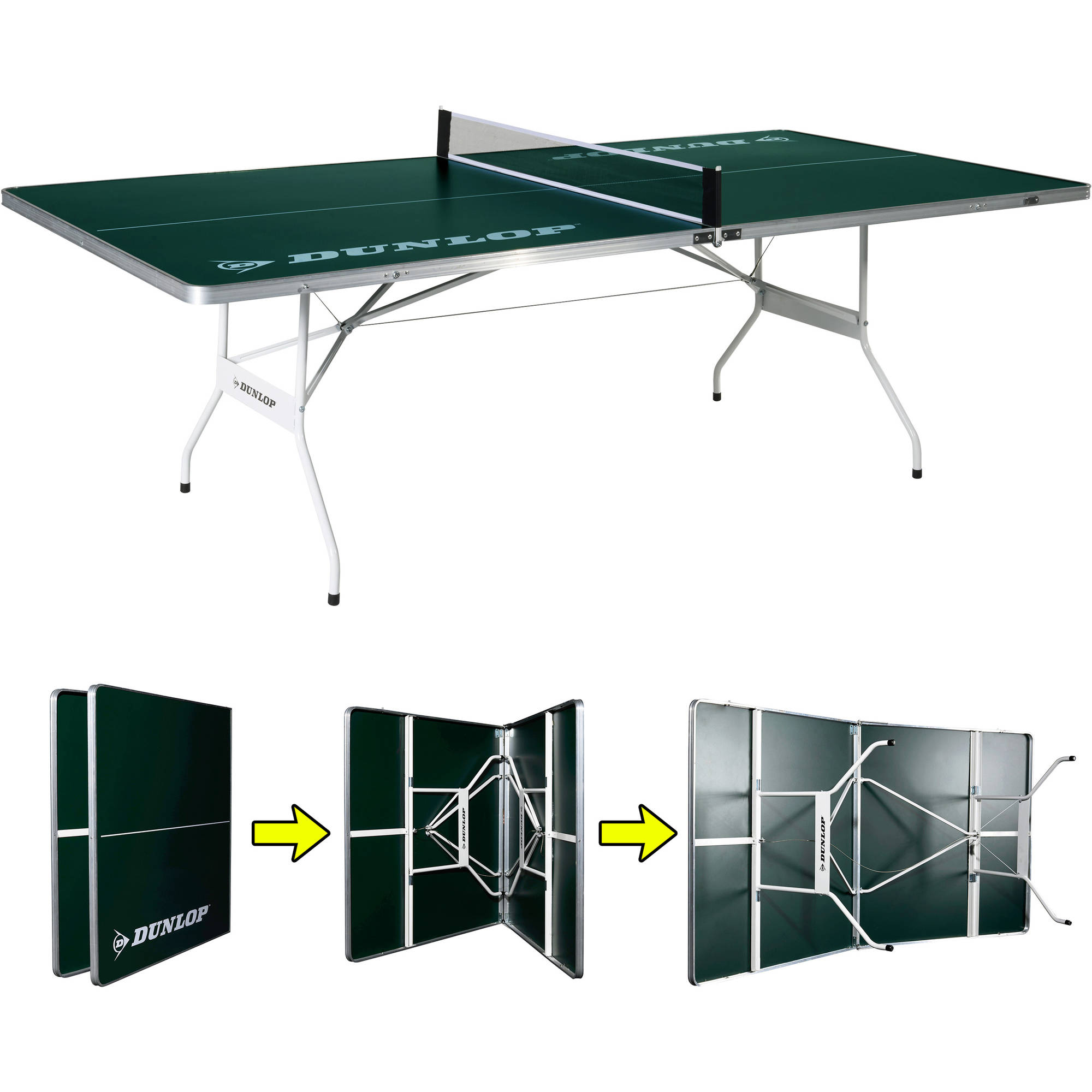 DUNLOP Easy Fold Outdoor Table Tennis Table   Walmart.com