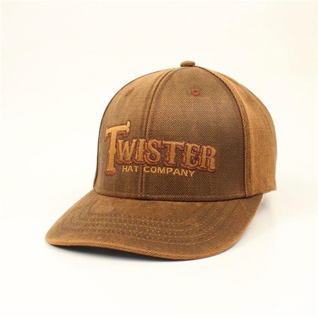 ececfe748 Ariat 1513002 Twister Oilskin Mens Cap, Brown | Walmart Canada