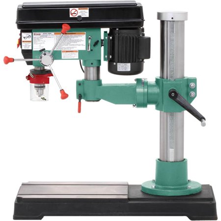 Grizzly G9969 Radial Drill Press Walmart Com