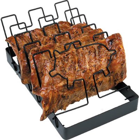 Charcoal Companion Spacesaver Non Stick Rib Rack Walmart Com