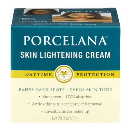 (2 pack) Porcelana Skin Lightening Day Cream and Fade Dark Spots Treatment, 3 -