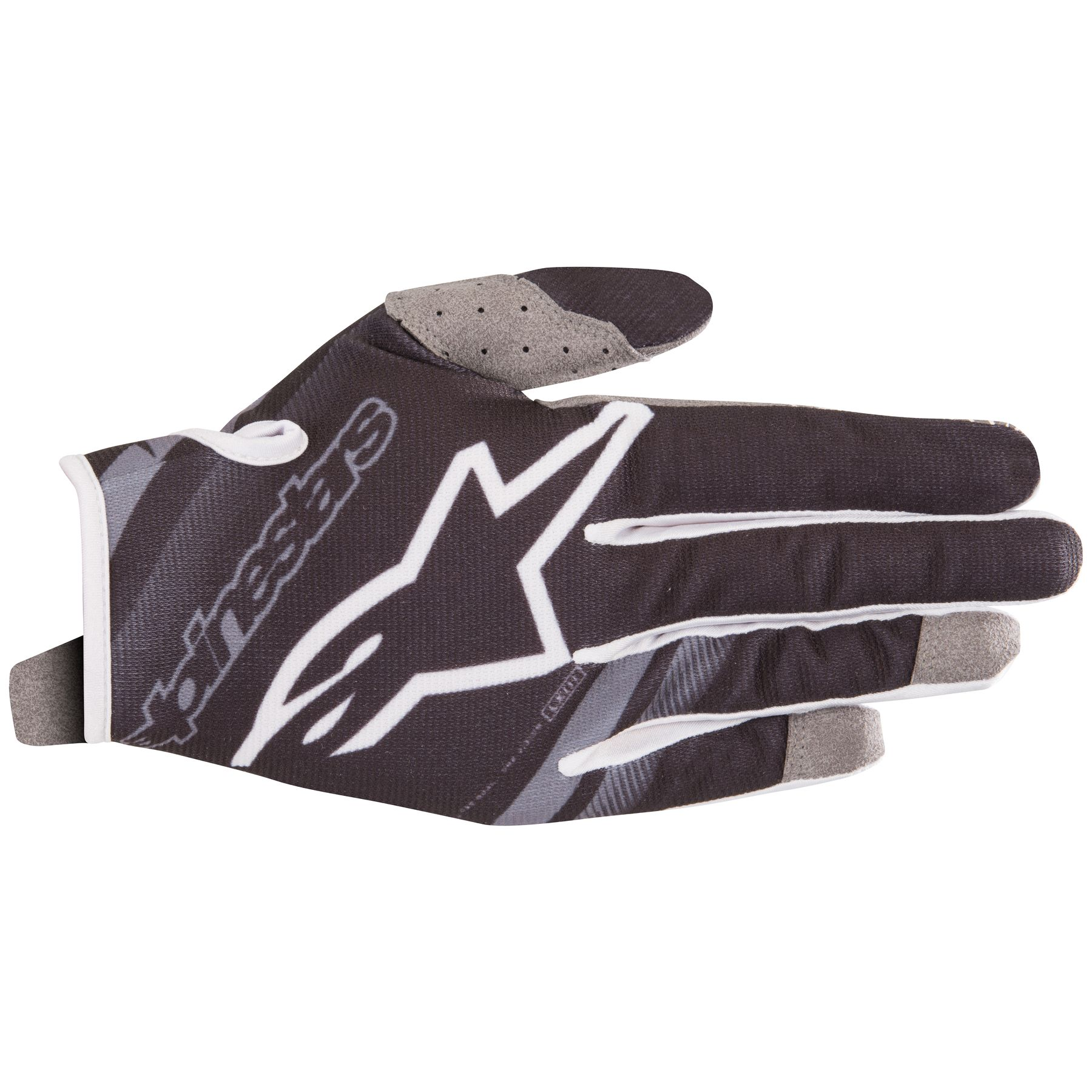 Alpinestars Youth Radar MX Offroad Gloves Black/Gray
