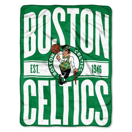 "NBA Boston Celtics ""Clear Out"" 46""x 60"" Micro Raschel Throw"