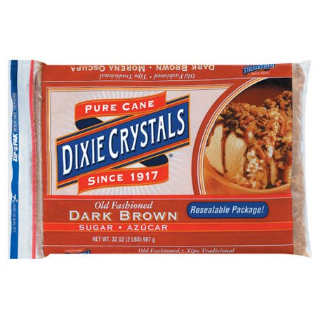 Dixie Crystals: Old Fashioned Dark Brown Sugar, 32 Oz