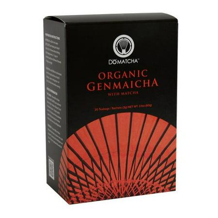 Genmaicha Green Tea - Organic Green Tea Genmaicha DoMatcha 20 Bag
