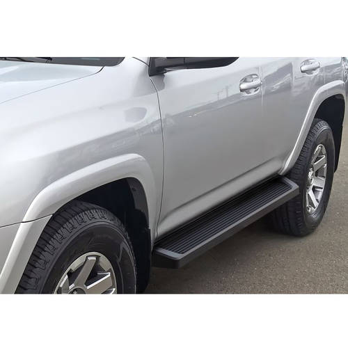 """2010-2018 4Runner Trail Edition / 2014-2018 4Runner SR5 (Excl. 10-13 SR5 and 10-18 Limited/ Excl. All Models with Lower Rocker Panel Extensions) 6"""" Matte Black iRunning Board"""
