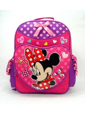 050c0704009 Product Image Backpack - Disney - Minnie Mouse - Pink Lucky (Large School  Bag) New 619220