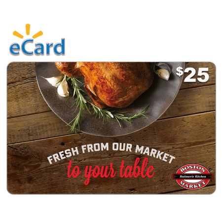 Boston Market $25 Gift Card (email Delivery) - Boston Market Halloween Special