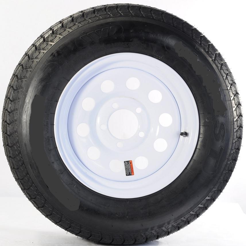 2-Pack TowMax Trailer Tires & Rims ST175/80R13C 1360# 13X...