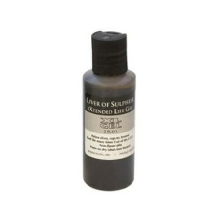 7 Ounce Liver - Liver Of Sulphur Gel, 2 Ounce Bottle