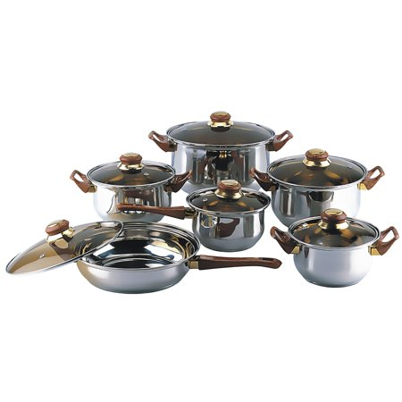 Gourmet Chef  12-piece Covered Cookware Set Gourmet Magazine Covers