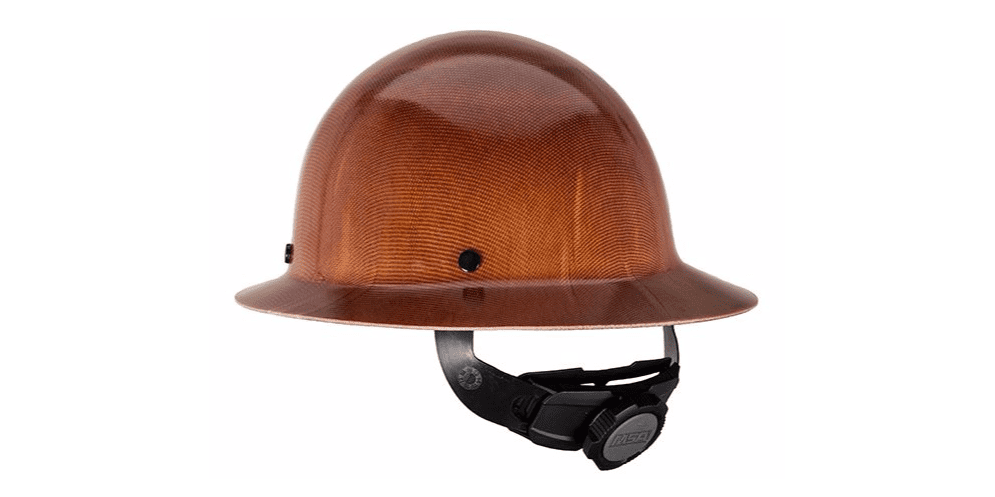 MSA Natural Tan Skullgard Class G Type I Hard Hat With Fas-Trac Suspension by MSA (Mine Safety Appliances Co)