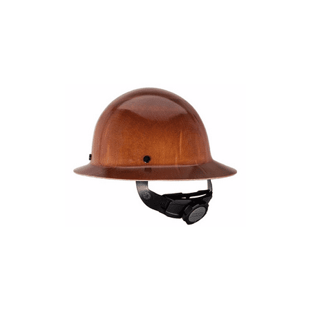 Msa Natural Tan Skullgard Class G Type I Hard Hat With Fas Trac Suspension