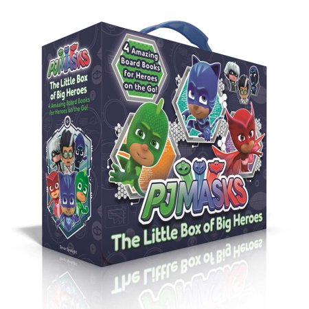 The Little Box of Big Heroes : PJ Masks Save the Library; Hero School; Super Cat Speed; Race to the