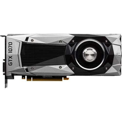 PNY NVIDIA GeForce GTX 1070 Founders Edition 8GB GDDR5 PCI Express 3.0 Graphics Card