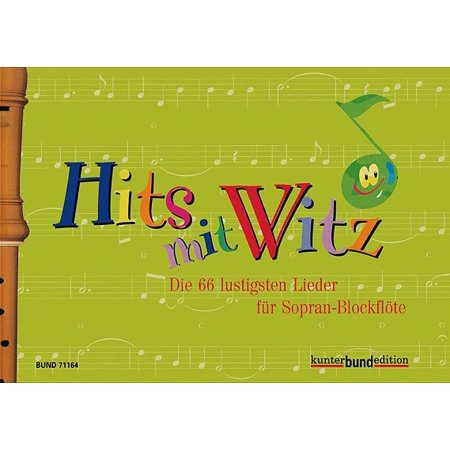Hits Mit Witz : 66 Funny Songs for Soprano Recorder - Halloween Theme Song On Recorder