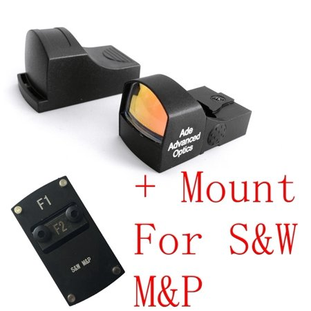 Ade Optics RD3-009 Red Dot Reflex Sight for Smith Wesson SD9 SIGMA SD SD40 MP (Smith & Wesson Sd9 Magazine 9mm 16 Round)