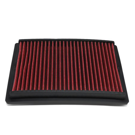 For 12-17 Chevy Sonic 1.8L 1.4T Reusable & Washable Replacement Engine High Flow Drop-in Air Filter (Engine Air Flow)