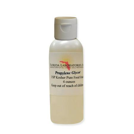 Florida Laboratories Bottle Propylene Glycol USP Food Grade Kosher 4 - Propylene Glycol Peg