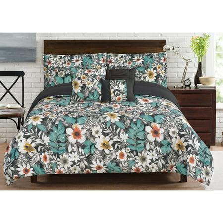 Bloomfield 6 Piece Comforter Set   Queen