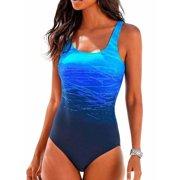 Women's One-Piece Beachwear Swimwear Push Up Padded Monokini Bikini Bathing Suit