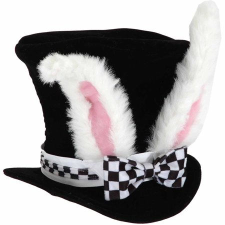 White Rabbit Hat Child Halloween Costume Accessory](Firefighter Halloween Hat)