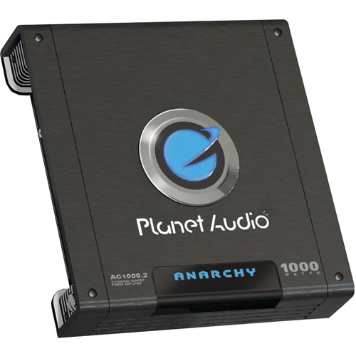 Planet Audio AC1000.2 ANARCHY MOSFET Amp