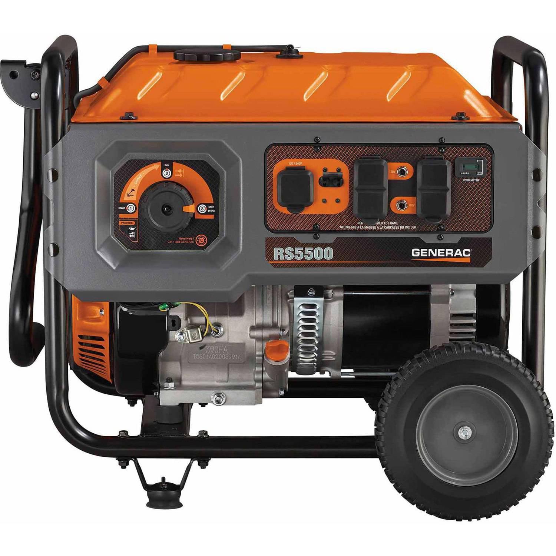 Generac 6672- RS Series 5500 Portable Generator
