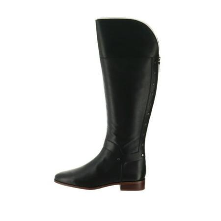 Franco Sarto Leather Tall Shaft Boots Roxanna A298318