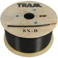 Tram 8X-B RG8X 500' Roll Tramflex Coaxial Cable