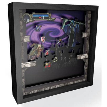 Pixel Frames Castlevania Symphony Of The Night Shadow Box Art 6