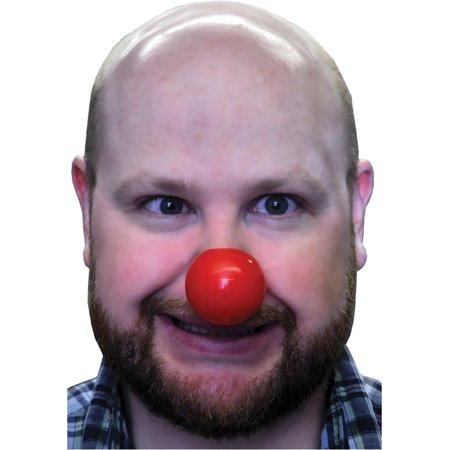 Clown Nose Plastic - Latex Clown Nose
