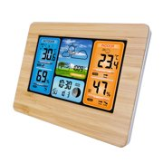 Best Barometers - Wireless Weather Station, Digital Indoor/Outdoor Thermometer & Hygrometer Review