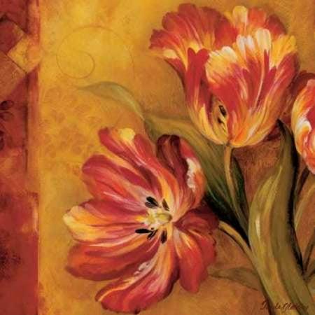 Pamela Gladding Pandoras Bouquet - Pandoras Bouquet II Canvas Art - Pamela Gladding (24 x 24)