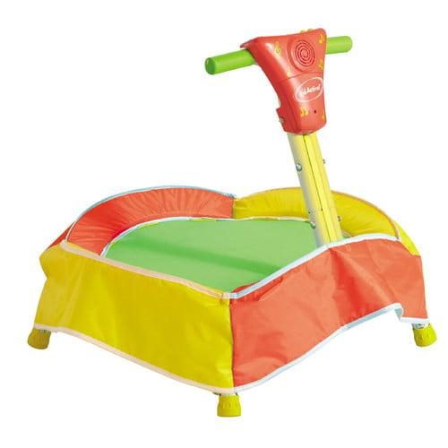 Diggin Active JumpSmart Jr. Electronic 23-Inch Trampoline, Green/Orange/Yellow
