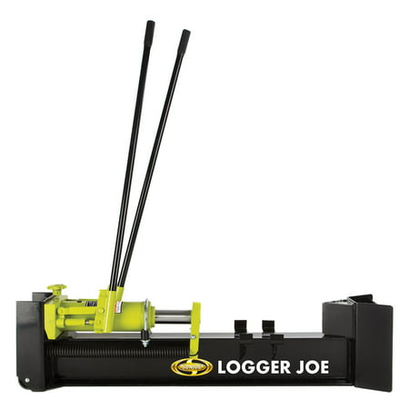 Sun Joe Logger Joe 10-Ton Hydraulic Manual Steel Portable Log Splitter | LJ10M