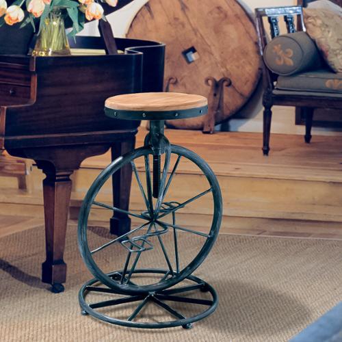 Michaelo Bicycle Wheel Adjustable Barstool Walmart Com