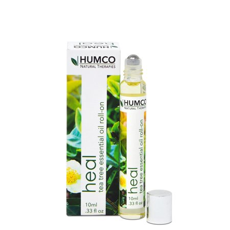 Humco Tea Tree Essential Oil Roll On, .33 Fl Oz