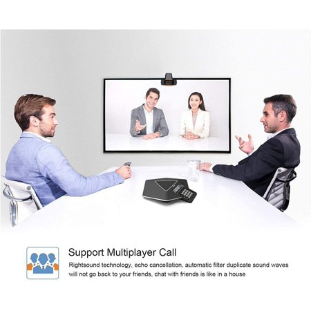 480P Computer Webcam PC Desktop Rotatable USB 2.0 Camera with Microphone for Skype Android TV - image 7 of 8