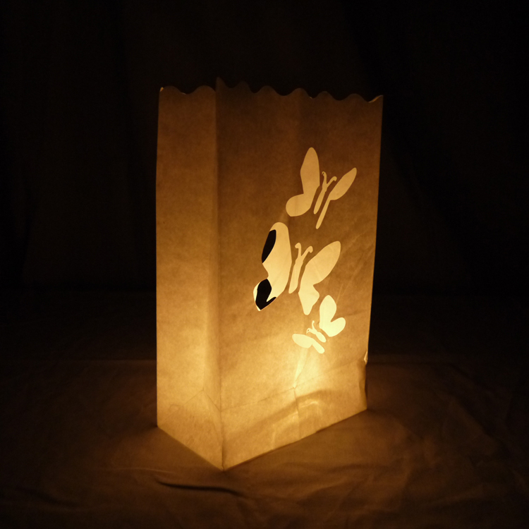 10 Pack Luminary Lantern Bags Path Lighting